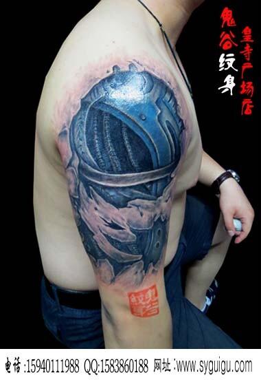 鬼谷作品-沈阳鬼谷纹身图片